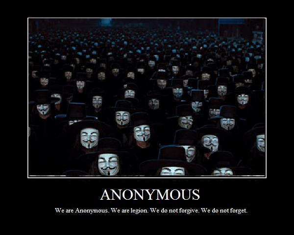 Les Anonymous médiatisent leur nouvel appel au DDoS
