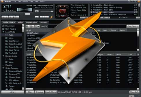Un exploit de type « Zero-day » affectant Winamp exécute des backdoors