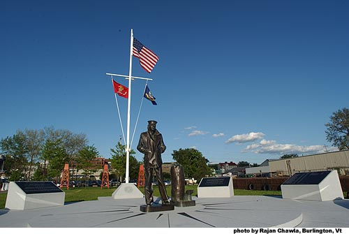 Le site du mémorial de la Navy a été défacé