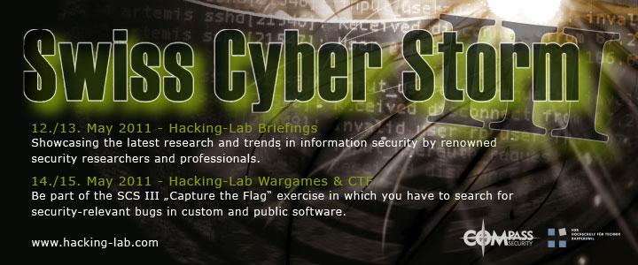 Swiss Cyberstorm 2011