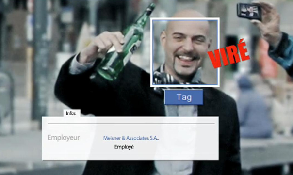"""Facebook te fiche"": une campagne belge met les utilisateurs en garde"