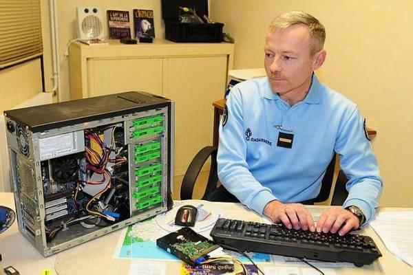 Un gendarme traque la cyber-délinquance