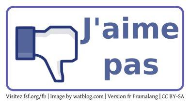 """Un bouton """"J'aime pas"""" pour protester contre Facebook"""