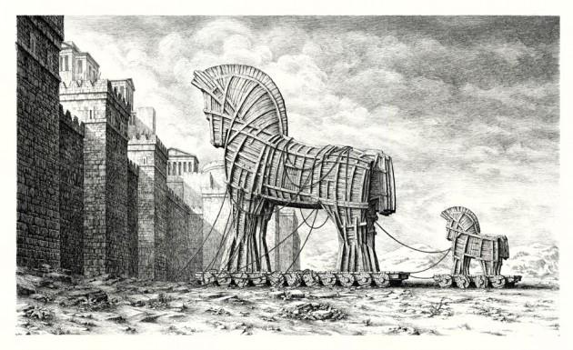 Recrudescence de chevaux de Troie via pourriels