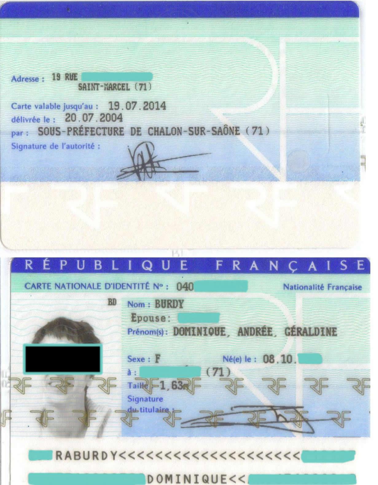 photocopie carte d identité recto verso Carte grise francaise explication essay   Redenschreiber