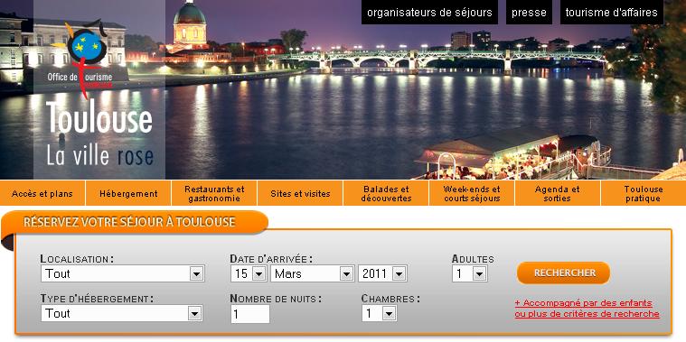L'office de tourisme de Toulouse piraté