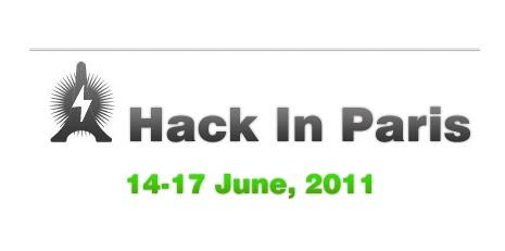 Hack In Paris 2011 : synthèse de l'évènement