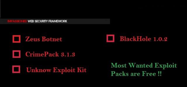 Impassioned Framework en téléchargement – Un nouveau Crimeware disponible gratuitement !
