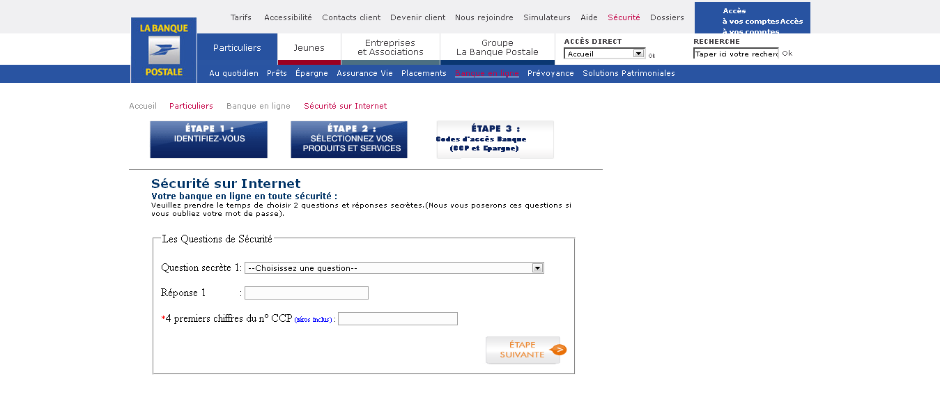 alerte phishing banque postale en cours undernews. Black Bedroom Furniture Sets. Home Design Ideas