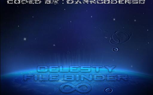 Celesty File Binder/Joiner : un énième projet de DarkCoderSc