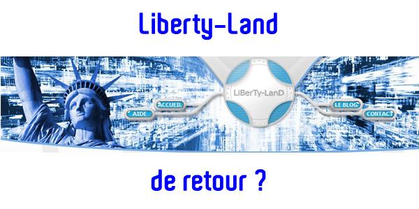 Le site de partage Liberty Land est de retour ?