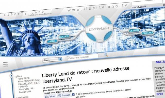 le site de partage liberty land est de retour undernews