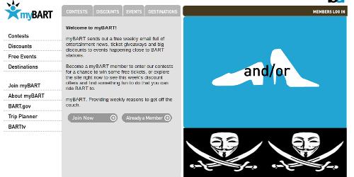 Anonymous s'attaque à une compagnie de transports de San Francisco