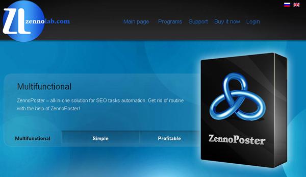 ZennoPoster, le spammeur automatisé