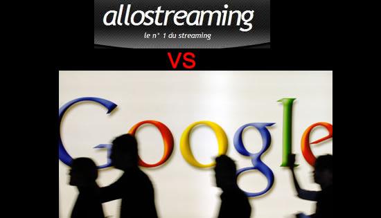 Allostreaming et AlloShowTV supprimés de Google