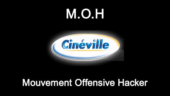 Le M.O.H aide le groupe Cinéville à corriger des failles de sécurité sur leur site Internet
