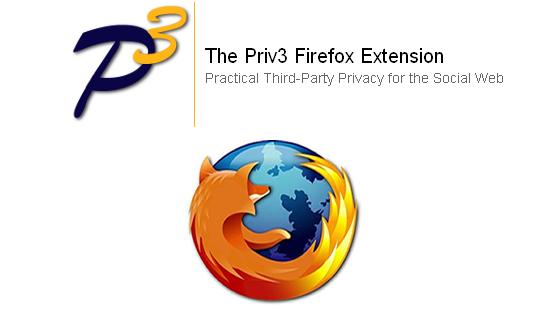 Priv3 : Empêcher les réseaux sociaux de vous tracer sous Firefox