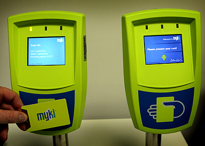 La carte de transport MyKi piratée