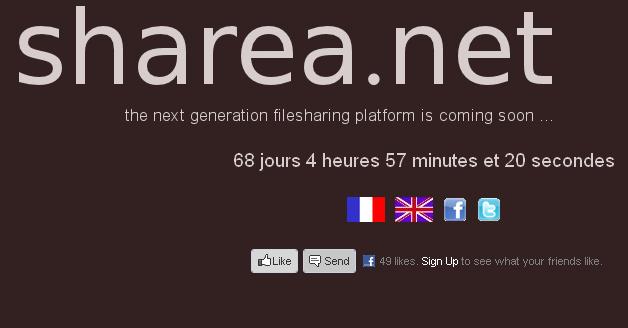 """Sharea : Un projet d'hébergement de fichiers """"social"""" prometteur"""