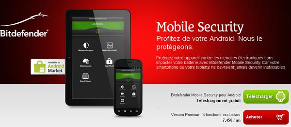 Bitdefender s'attaque au marché Android avec une nouvelle solution de sécurité