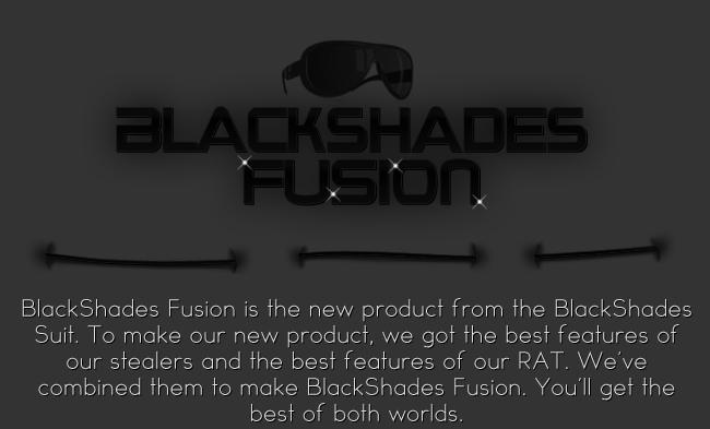 Blackshades Fusion RAT : Le code source diffusé sur le Net