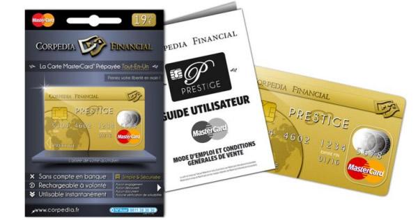 carte prépayée tabac presse Corpedia Financial lance la carte de paiement prépayée Prestige