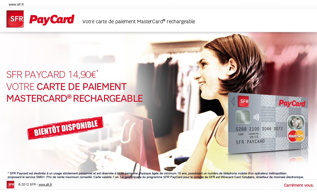 Carte Bancaire Prepayee Guadeloupe.Sfr Presente Une Carte De Paiement Prepayee Mastercard