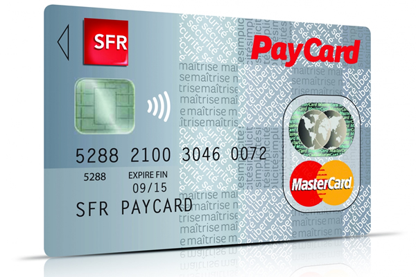 sfr pr sente une carte de paiement pr pay e mastercard undernews. Black Bedroom Furniture Sets. Home Design Ideas