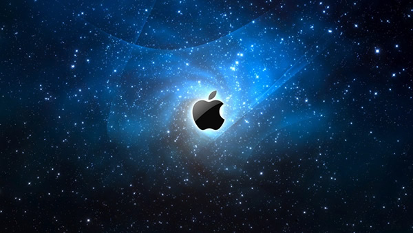 space-apple-logo