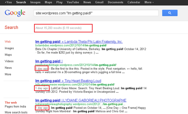 how to search articles on google
