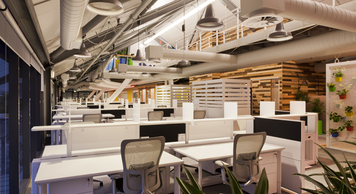 Bureaux de google france: toutes les photos des nouveaux bureaux de