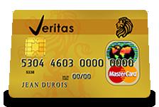 Carte prépayée VERITAS MasterCard : Exigez l'anonymat lors de vos