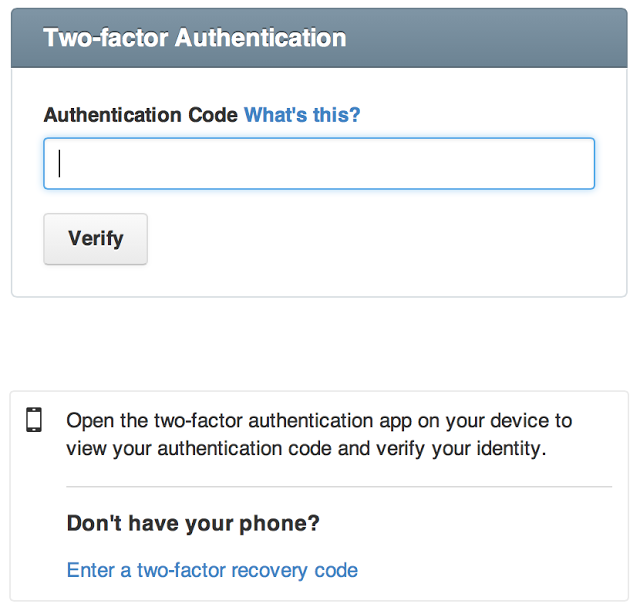 Github_Two-Factor-Auth2