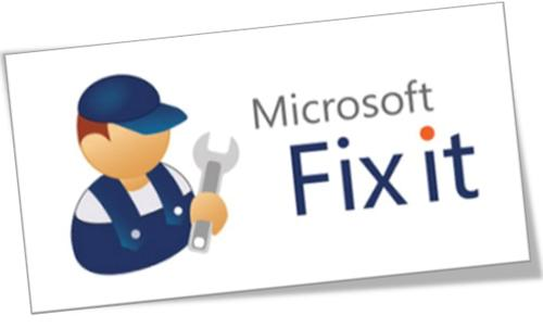 Microsoft-Fix-it-Center