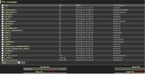 vBulletin Forum hacked shell