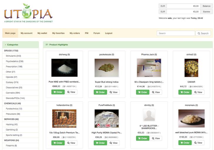 Utopia-drug-dark-web-tor-seized