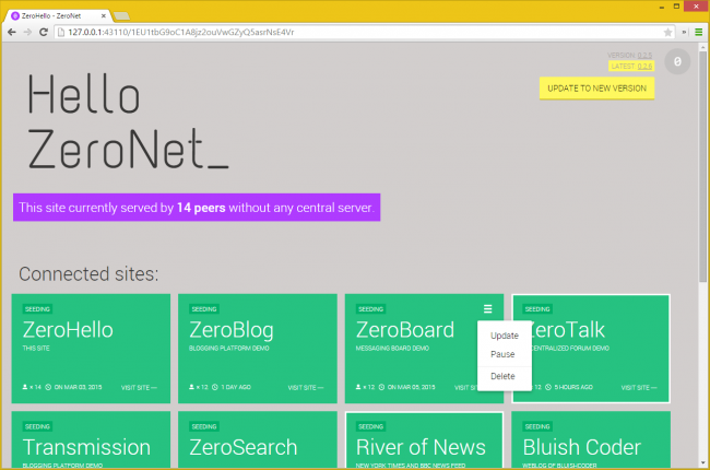 zeronet-test