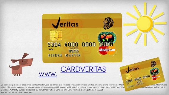 veritas mastercard inaugure le partage d 39 argent gratuit undernews. Black Bedroom Furniture Sets. Home Design Ideas